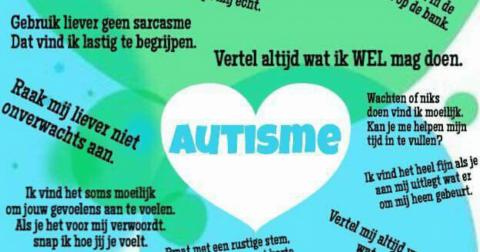 Autisme Informatiemarkt in Wijkcentrum de Symfonie