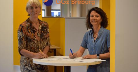 RIBW Brabant en GGz Breburg intensiveren samenwerking